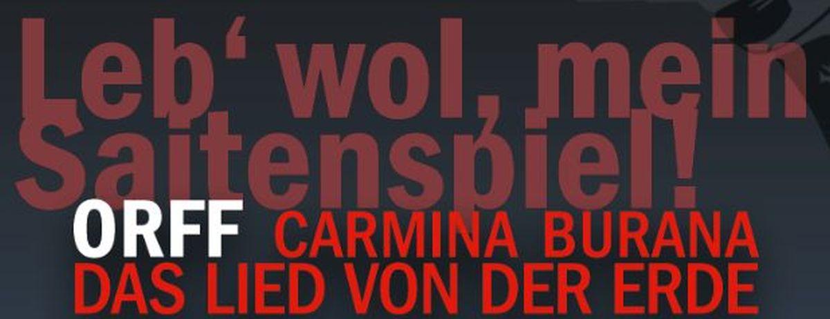 11. August 2013 Orff und Mahler Philharmonie Essen