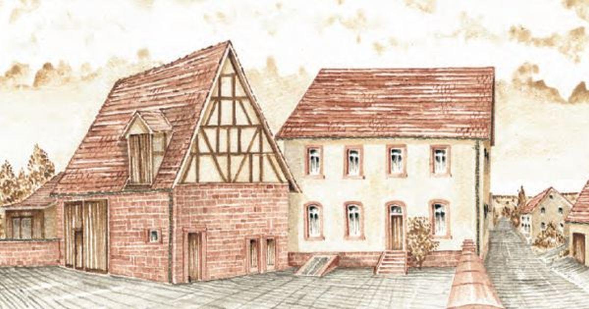 Gernot Schüll dokumentiert alle Häuser in Marienbrunn