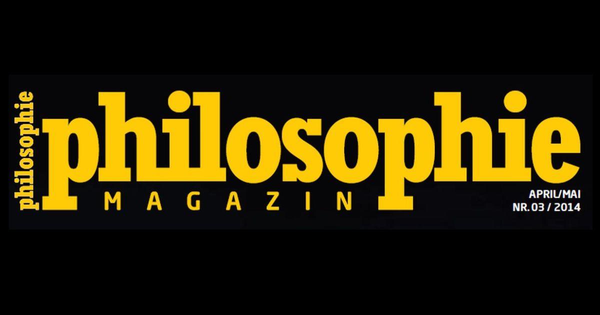 Das neue PHILOSOPHIE-MAGAZIN ist da!