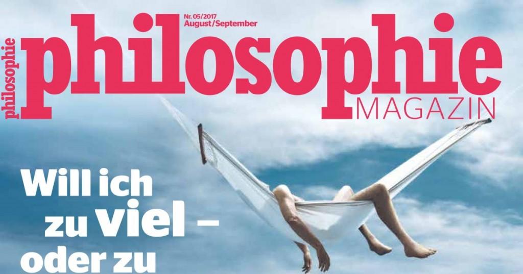 Das neue Philosophie Magazin ist da!