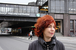 """22. Oktober 2013: Irina Liebmann """"Das Lied vom Hackeschen Markt"""" Lesung"""