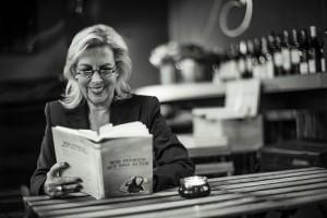 Henrike Müller-Moll bei Lesung