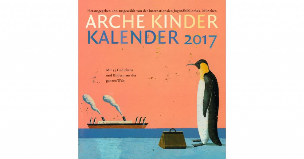 Der Arche Kinder Kalender 2017 ist da!